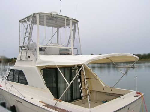 Flybridge Enclosure & Bimini