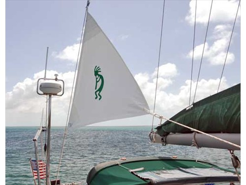 Beneteau 393: Riding Sail